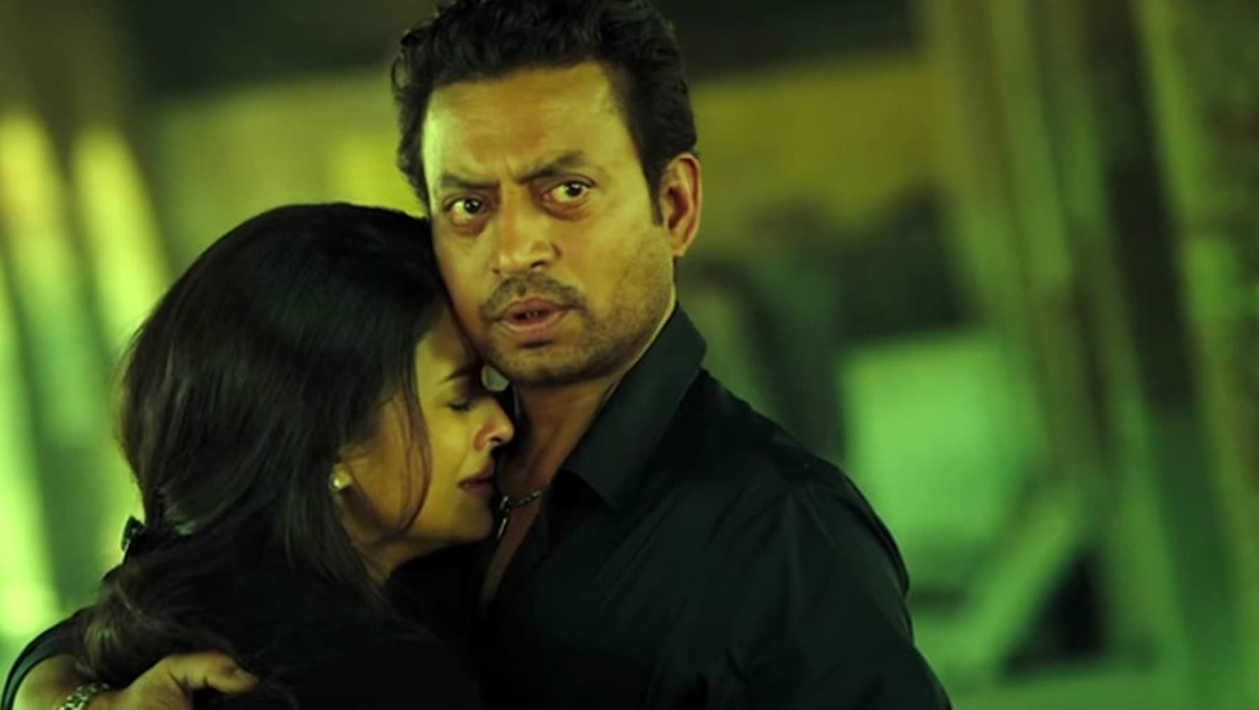 Jazbaa was the first-time pairing of Aishwarya and Irrfan Khan - Photo courtesy masala.com