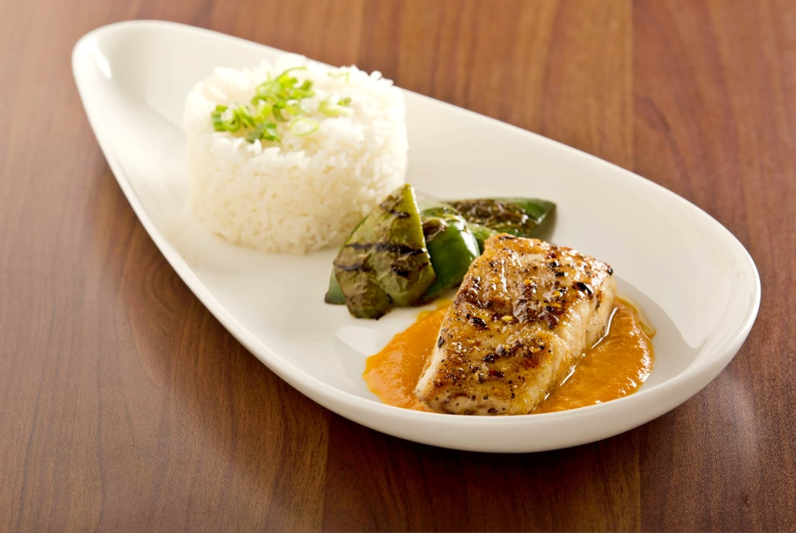 Red Snapper with Spicy Carrot