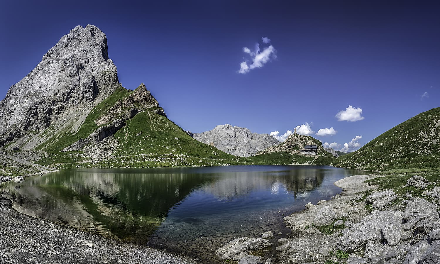 Seventh place: Wolayer See and surrounding area, Carinthia, Austria. — Photo by  Gerald Köstl