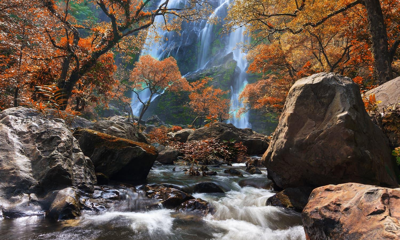 Twelfth place: Khlong Lan Waterfall, Khlong Lan National Park, Kamphaeng Phet Province, Thailand. — Photo by Khunkay