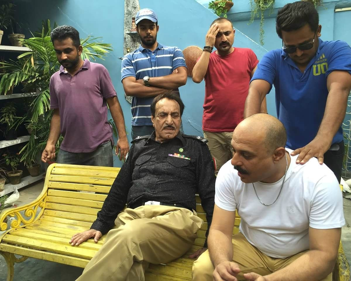 Father and son Mustafa Qureshi and Ali Azmat