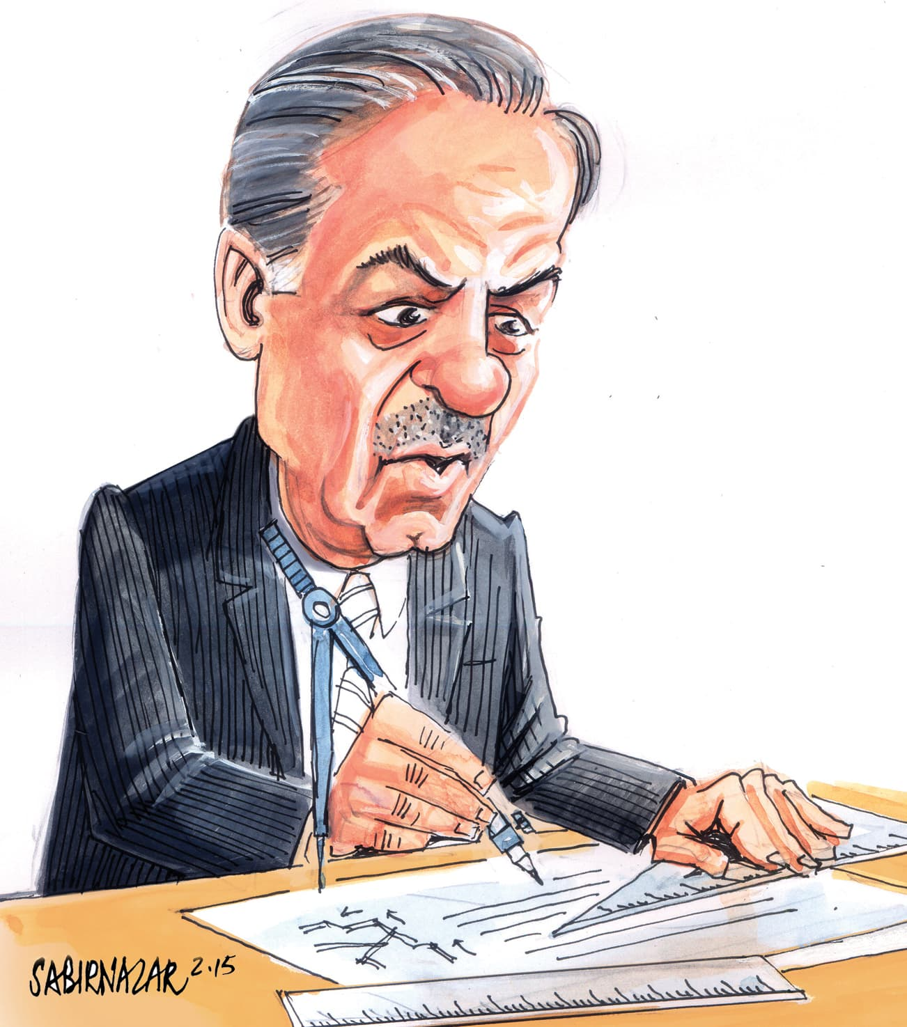 – Illustration by Sabir Nazar