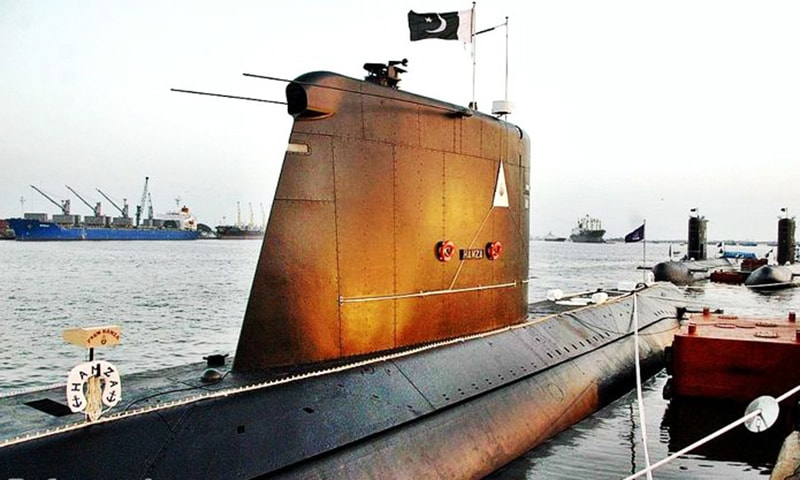 The backbone of Pakistan's current submarine fleet is the French-made Agosta 90B submarine. — Photo courtesy Pakistan Navy