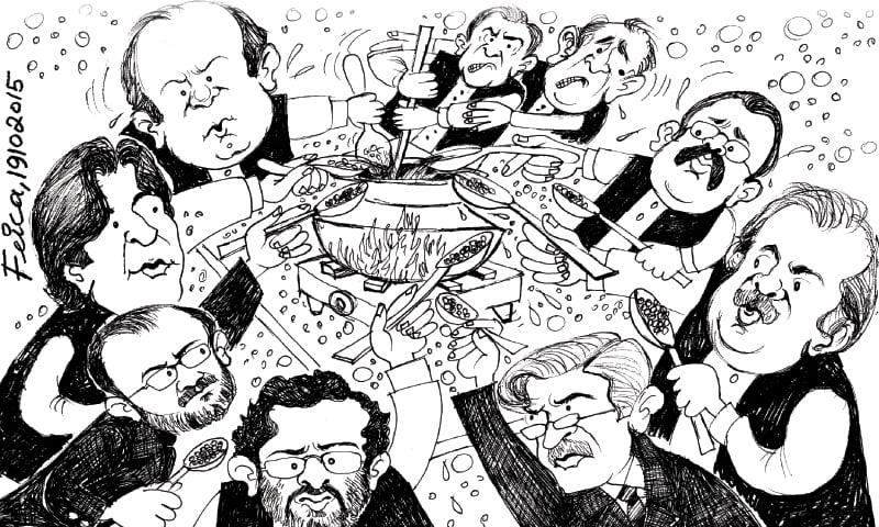 Cartoon: 19 October, 2015 - Newspaper - DAWN COM