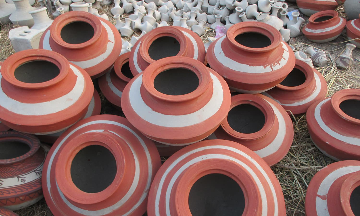 Image result for sindh mud pots