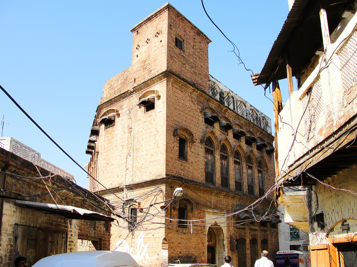 A haveli in Hazro Town.
