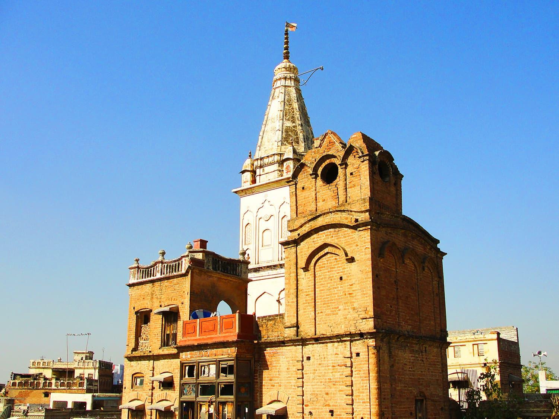 View of the Hari Mandir.