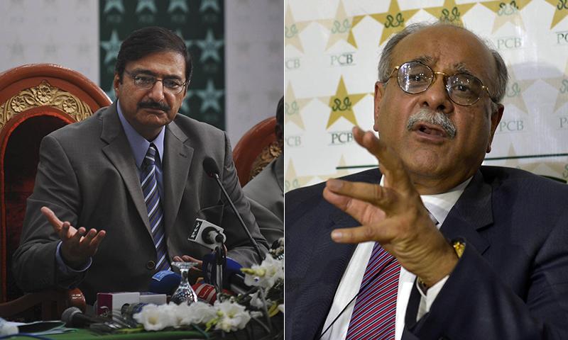 Zaka blames Sethi for current turmoil with India
