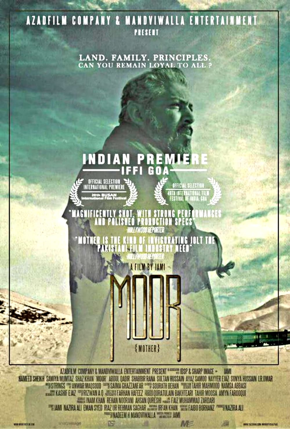 Moor's Indian premiere will take place at the nternational Film Festival of India (IFFI) in Goa
