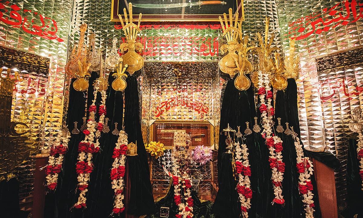 Imambargah Azakhana-e-Zehra in Saddar, Karachi   Mohammad Ali, White Star