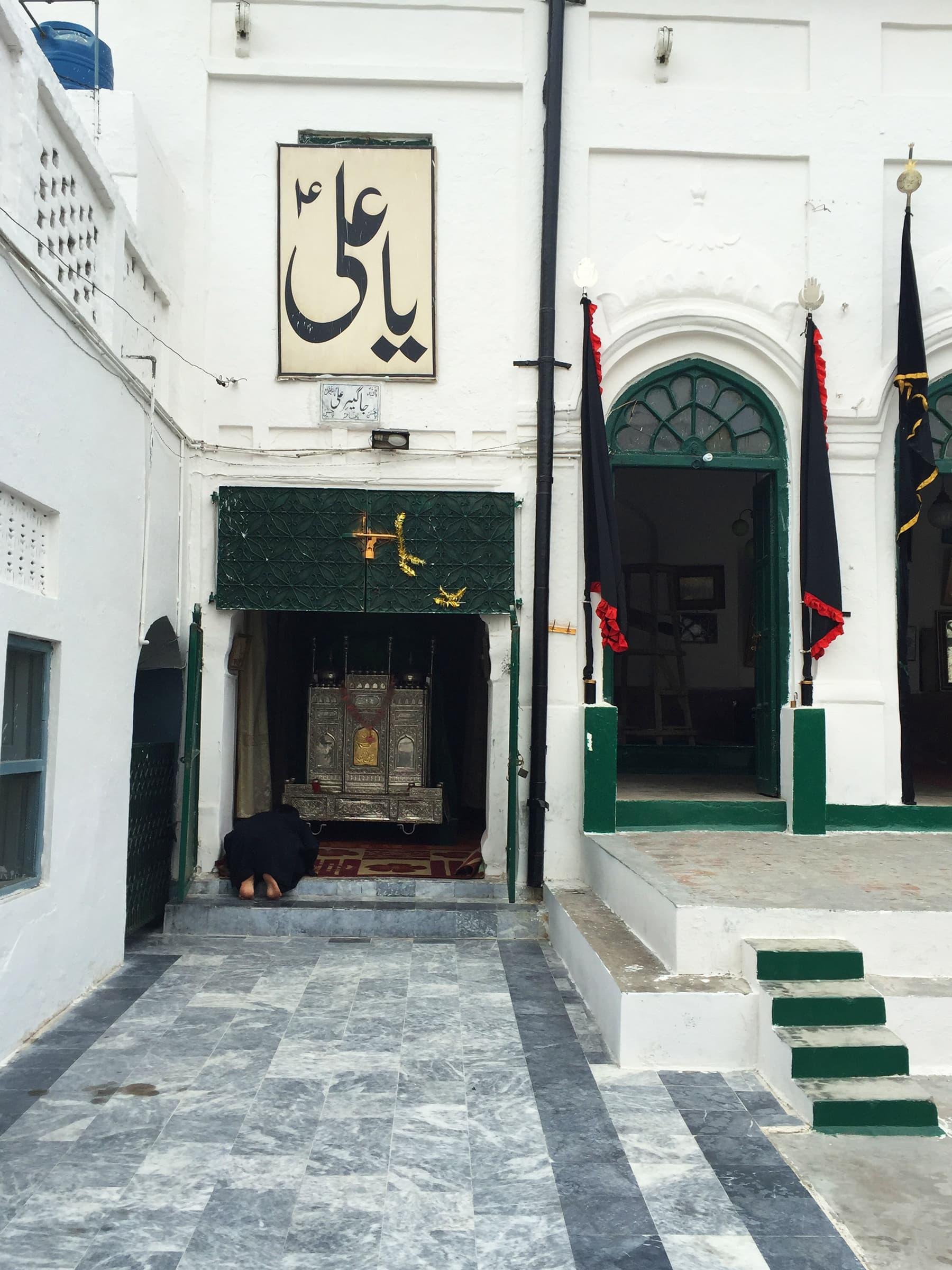 Inside Mubarak 'haveli' imambargah. —Taimur Shamil