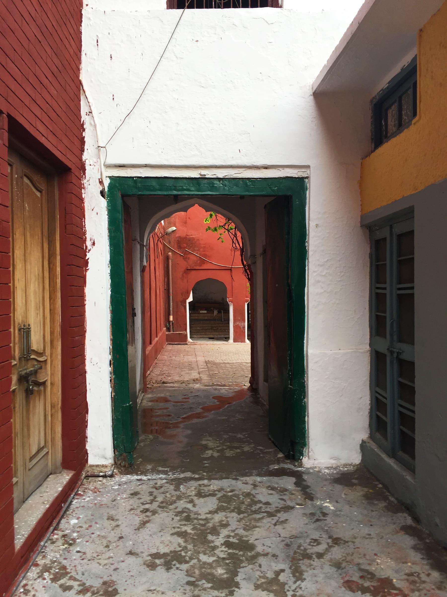 The passage way leading to the courtyard in Mubarak 'haveli'. —Taimur Shamil