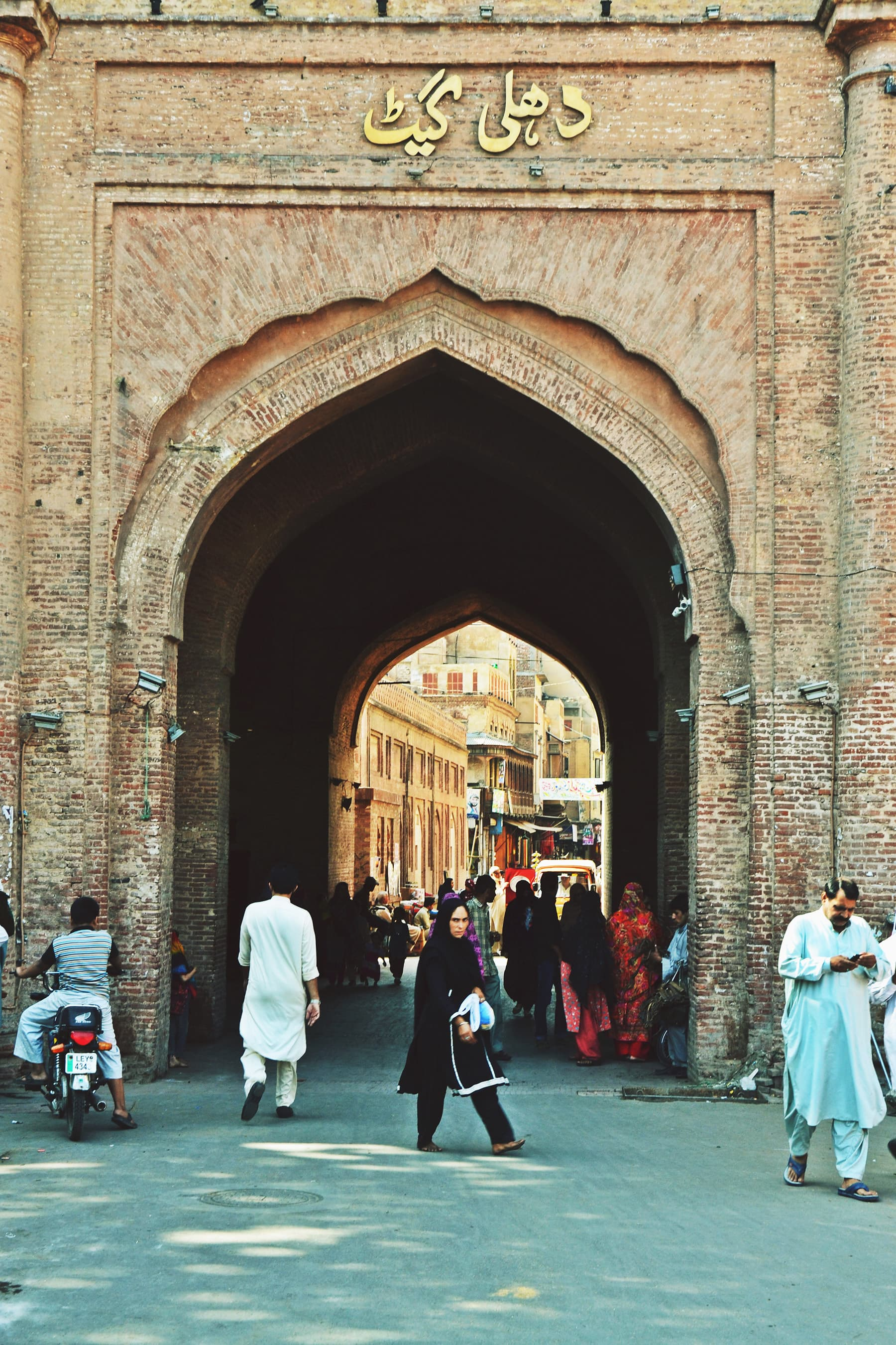 Delhi Gate, one the 12 gates of Lahore. —Photo by Abdullah Khan