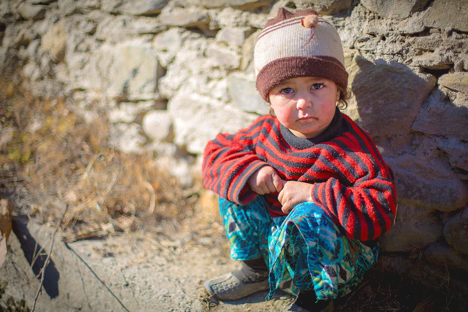 Children of Kalash — unafraid and beautiful.