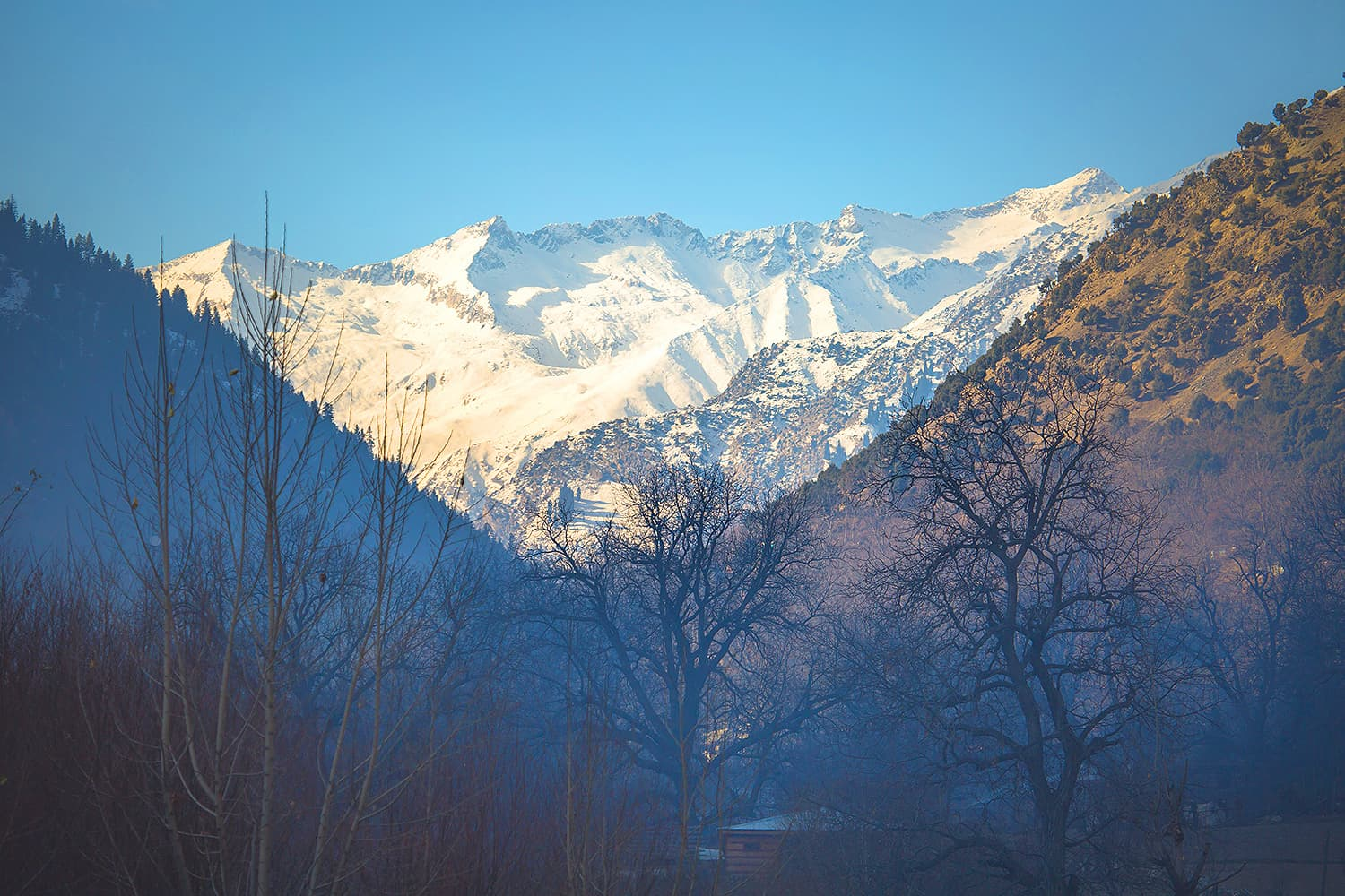 Mountains from across the border – Afghanistan.