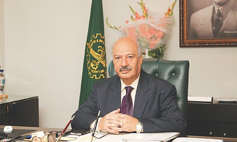 """Sheikh Mohammad Arshad, who has recently been elected as president of the Lahore Chamber of Commerce and Industry, says """"unless we have a robust domestic market, we will never be able to develop an auxiliary industry producing accessories for value-added leather manufacturers and exporters, establish our brands and sell outside the country""""."""