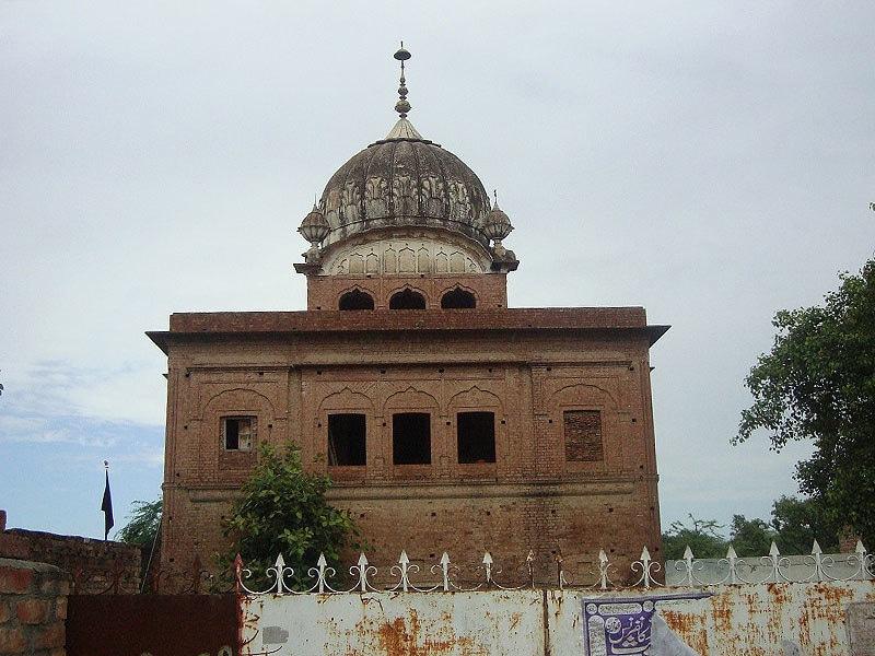 The Gurdwara of Guru Hargobind at Padhana.