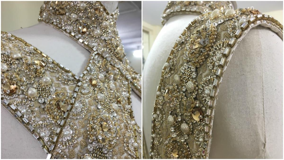 Faraz Manan believes his ensemble is fit for a queen – Photo courtesy Faraz Manan