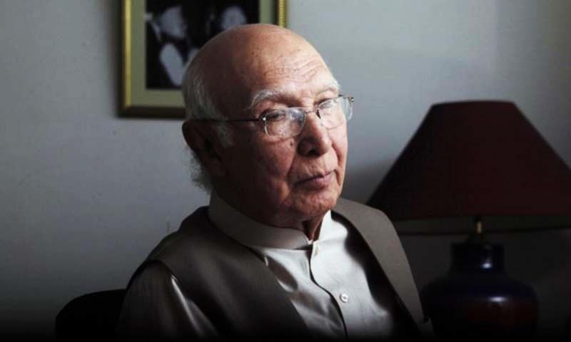Pakistan has some influence over Taliban, but no control: Sartaj