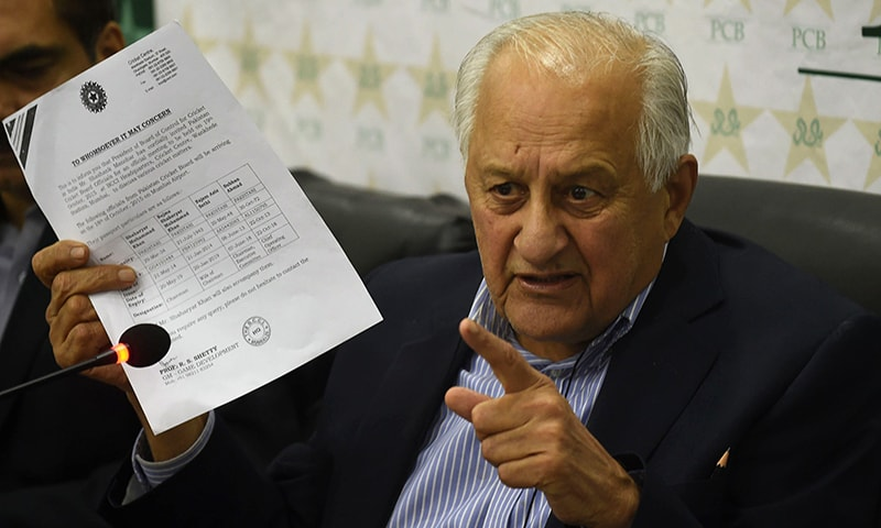 Letter to PCB: BCCI expresses regret over Mumbai incident