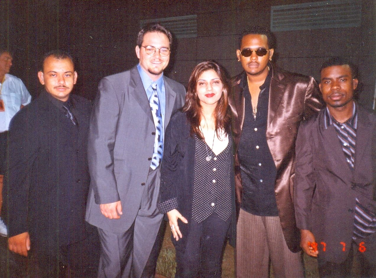 American R&B/pop group All4One were also her best buds
