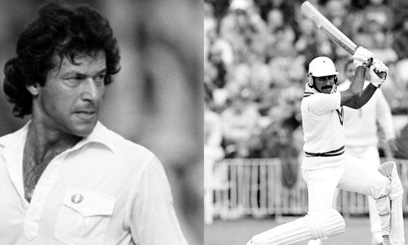 Imran Khan running into bowl to Javed Miandad would make for a great sight.