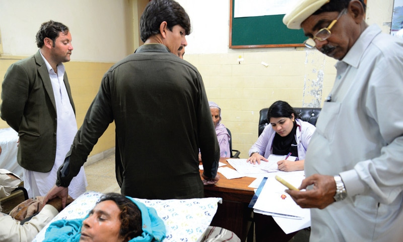 Stipulations such as continous medical education for doctors - to ensure they keep up-to-date with new developments - were allegedly scrapped by the PMDC council. — Photo by Khurram Amin