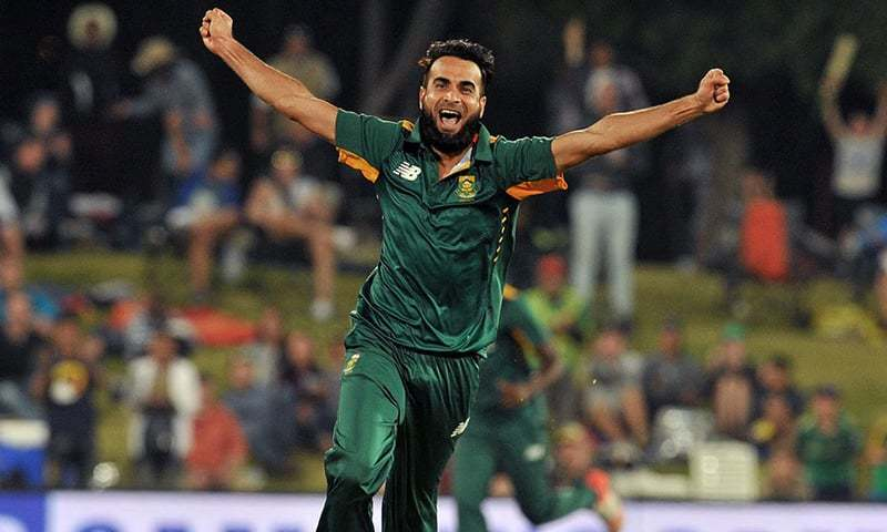 Imran Tahir will play his first international game in the city of his birth. AFP/File