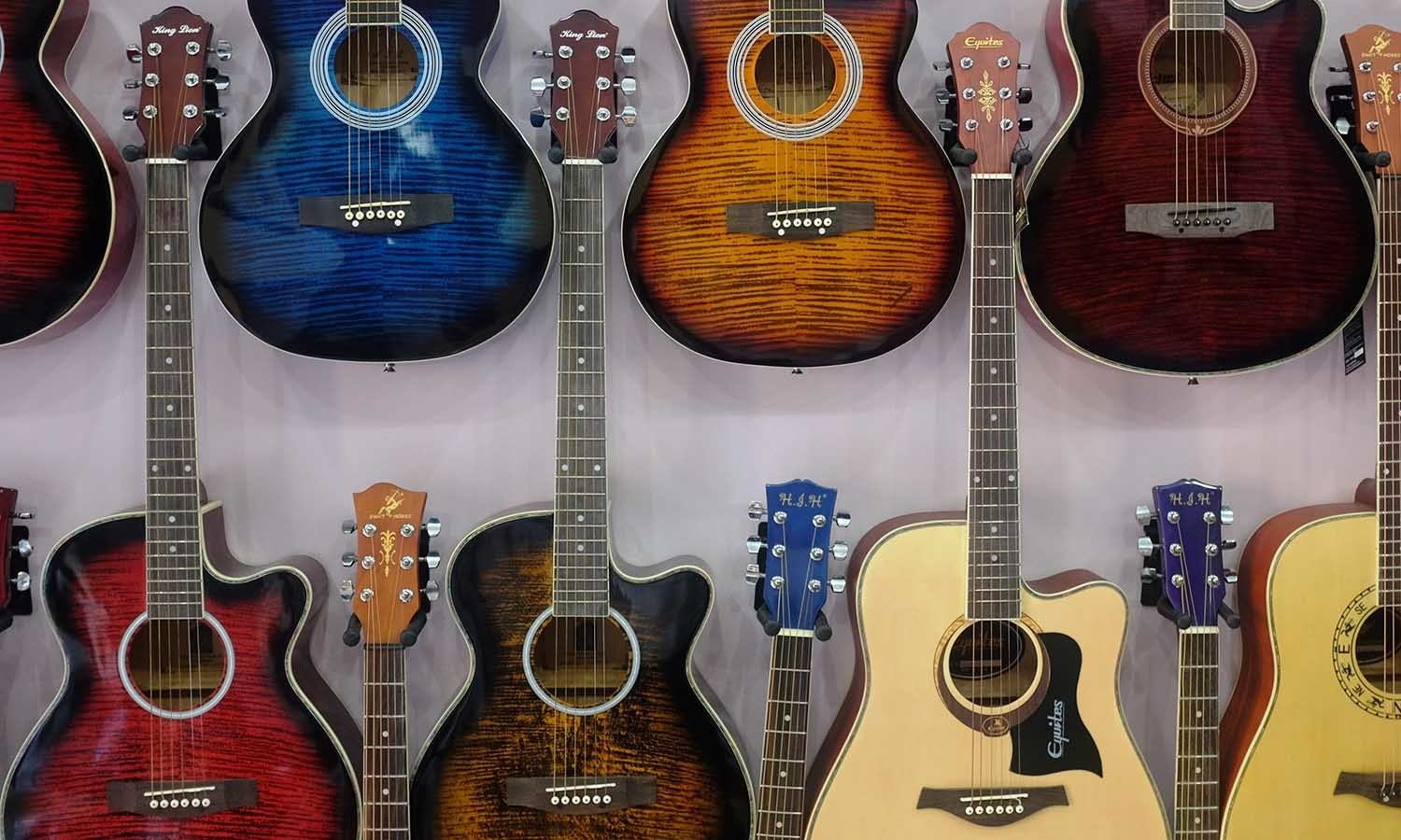 The Beatles Centre is one of the largest dealer of guitars in the country.