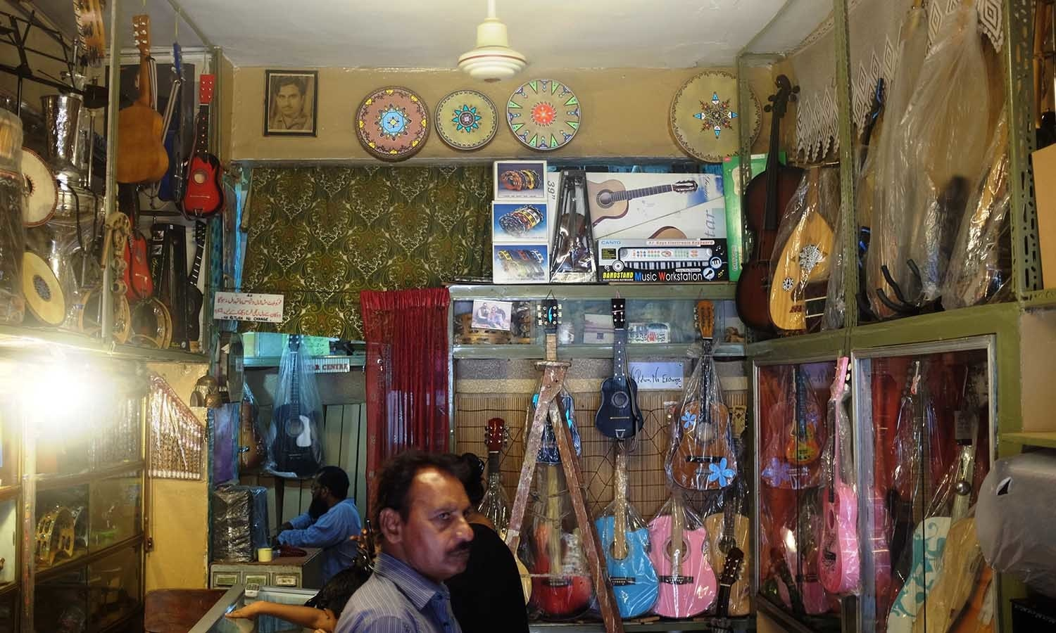Sohail Music Palace has to be one of the most well-assorted music shops in the city.