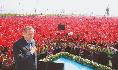 Erdogan's comeback