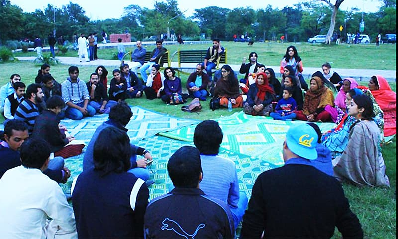 #GirlsAtDhabas reclaiming public spaces for women