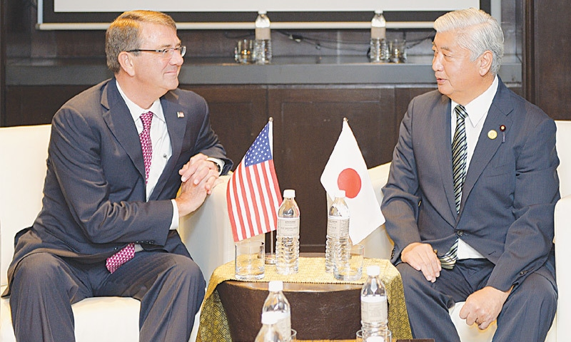 US to keep operating in South China Sea: Carter