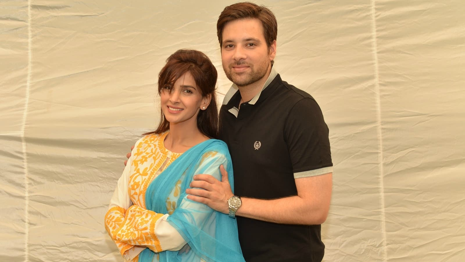 The happily wedded couple of Sangat - Ashy and Adnan - see their life turn upside down - Publicity photo