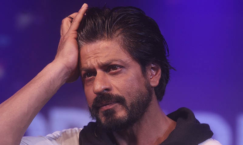 Bollywood superstar Shah Rukh Khan gestures during a press conference on his birthday in Mumbai, India. -AP/File