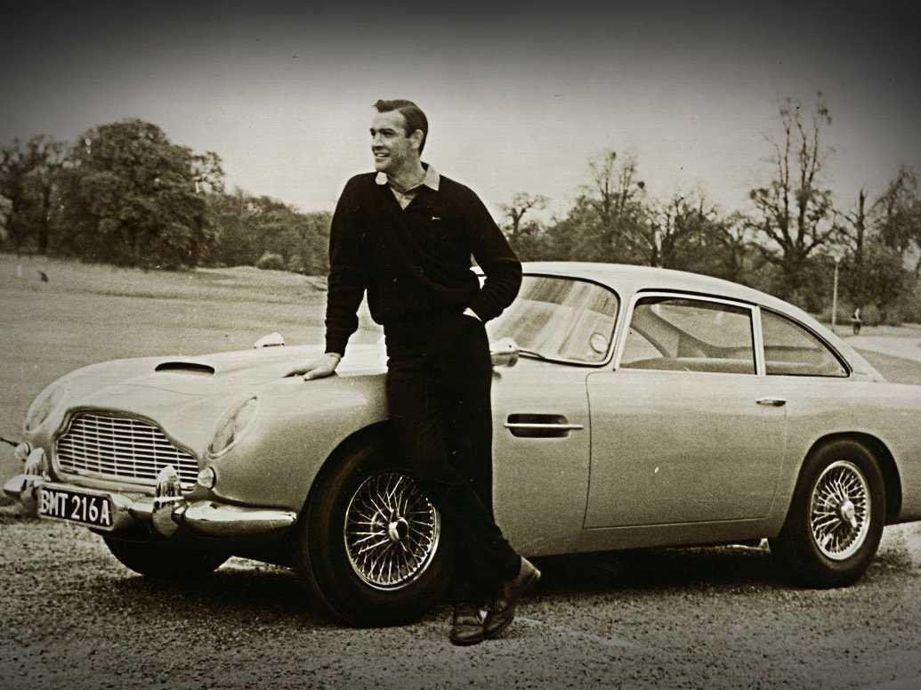 The Aston Martin DBS featured in 1964's 'Goldfinger'.