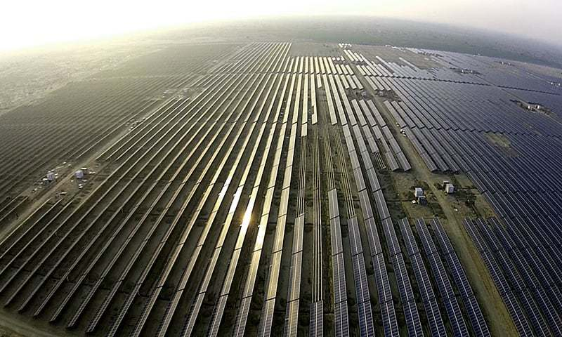 'Solar Park producing 12pc more power than target'