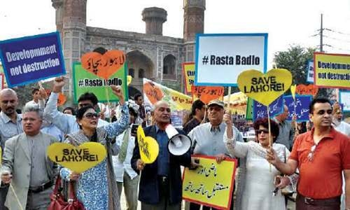 Civil society steps up protest against metro route