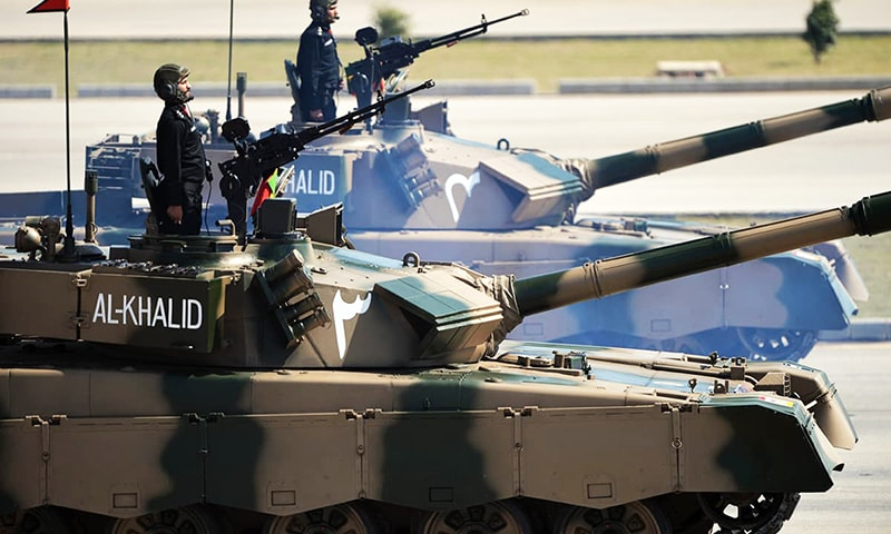 The Armoured Corps is rich in tradition, with storied units still included in its order of battle. — AFP/File
