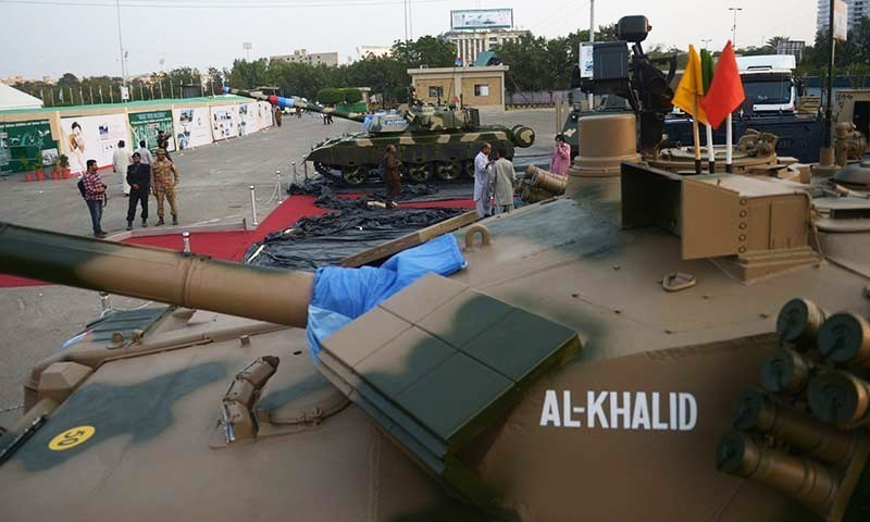 The Al-Khalid is a capable tank, and would be an adequate match for any adversary it faces in a conventional conflict. — AFP/File