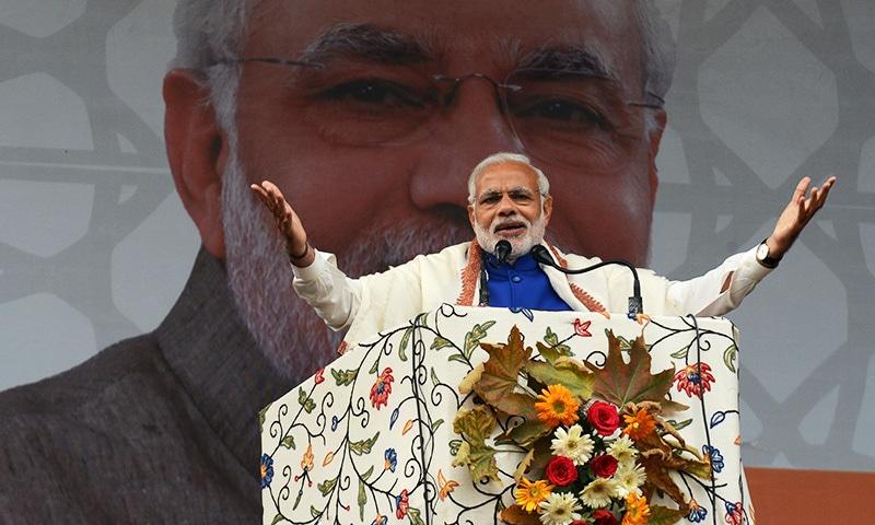 Modi pledges $12bn in relief and development for Kashmir