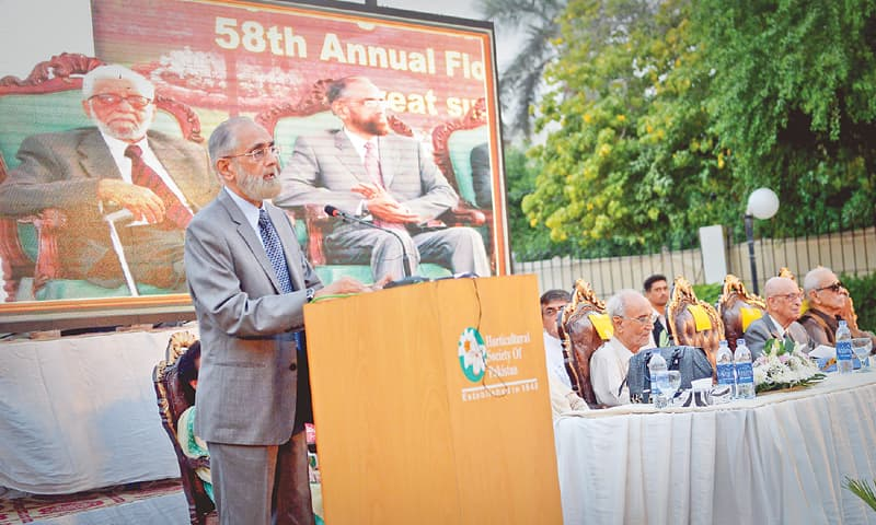 Chief Justice of Pakistan Anwar Zaheer Jamali on Saturday shares his memories of the late horticulturist A.K. Khan.—White Star