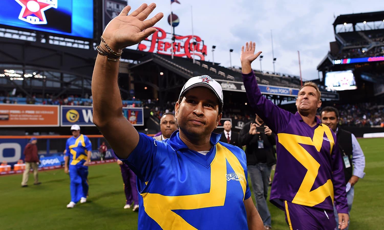 Sachin's Blasters Vs Warne's Warriors: An All-star