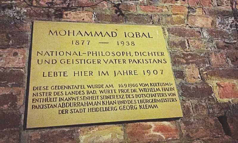 Footprints: Finding Iqbal in Germany
