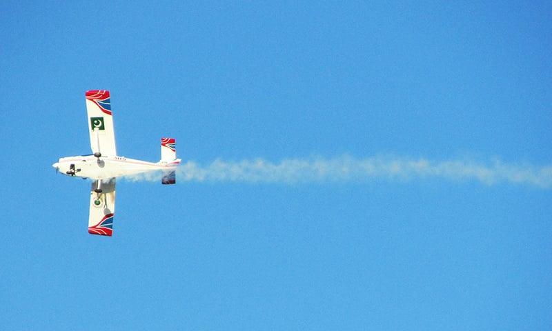 Super Mushak of Pakistan Air Force (PAF). -Creative Commons