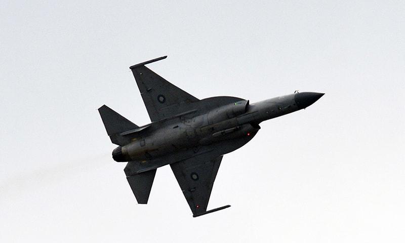 JF-17 Thunder aircraft. -AFP/File