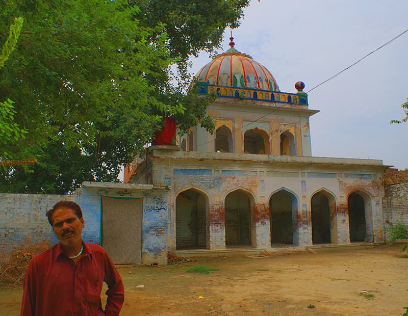 The gurdwara of Hargobind at Amar Sidhu village.