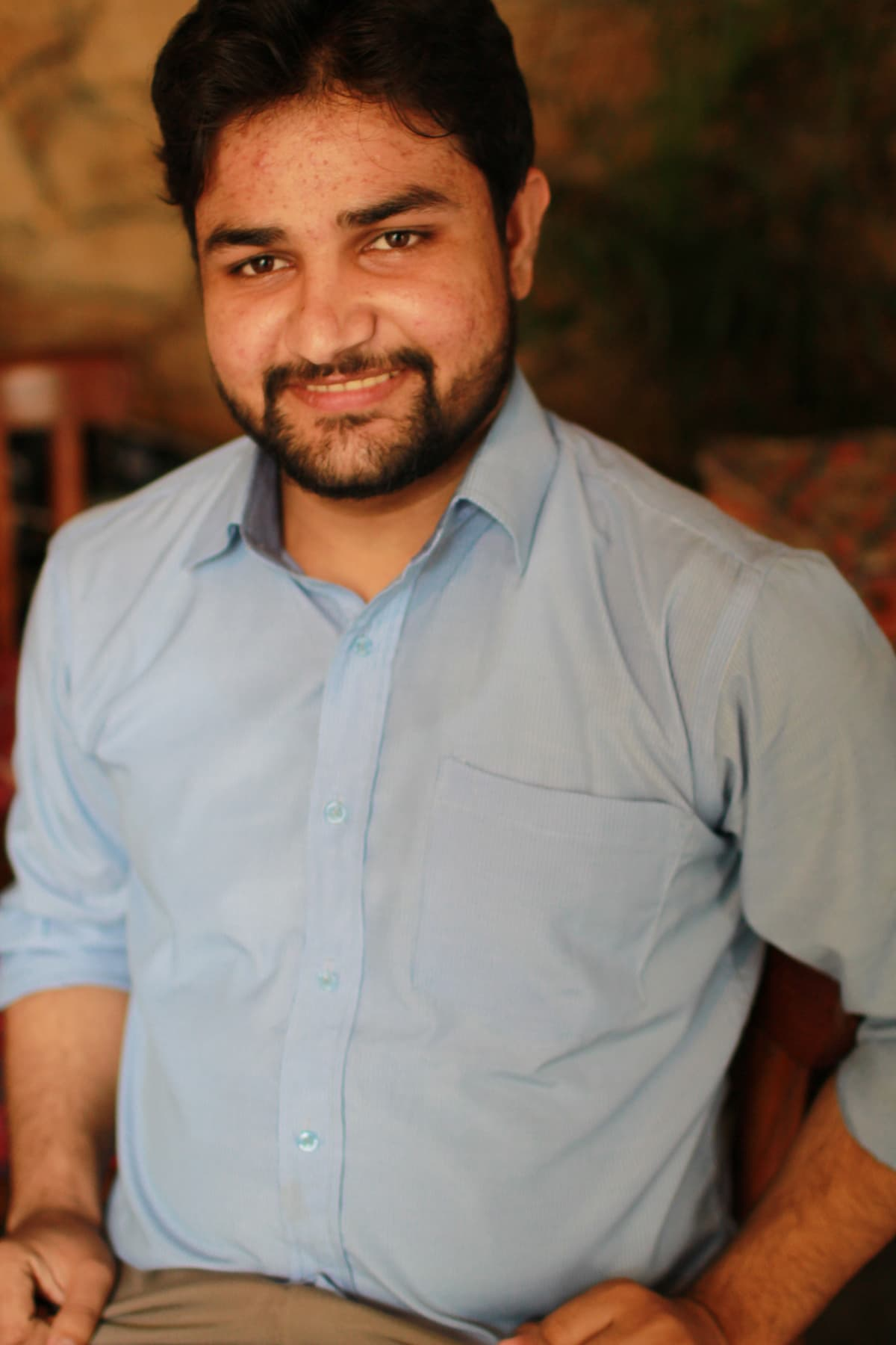 23-year-old Mohammad Waqas is the designer on board for heArtwork projects.
