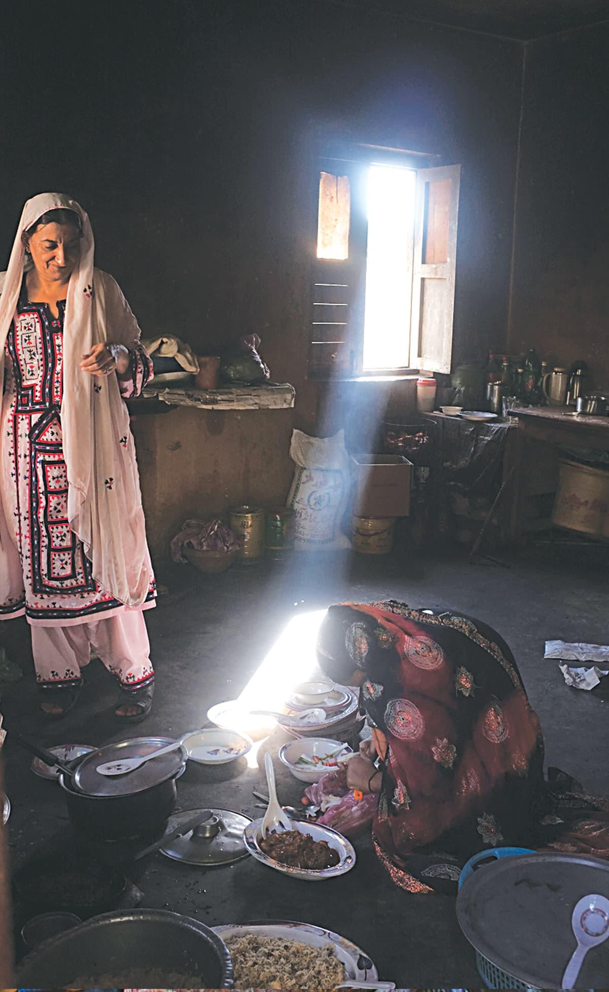 Inside a Baloch house | Malika Abbas, White Star