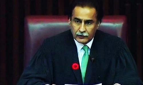 Speaker ignores NA to meet prime minister